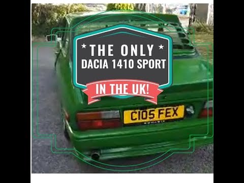 The only DACIA 1410 Sport in the UK - Reviewed in Plymouth