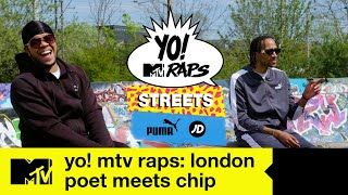 YO! MTV RAPS STREETS: London | When Poet met Chip | MTV UK
