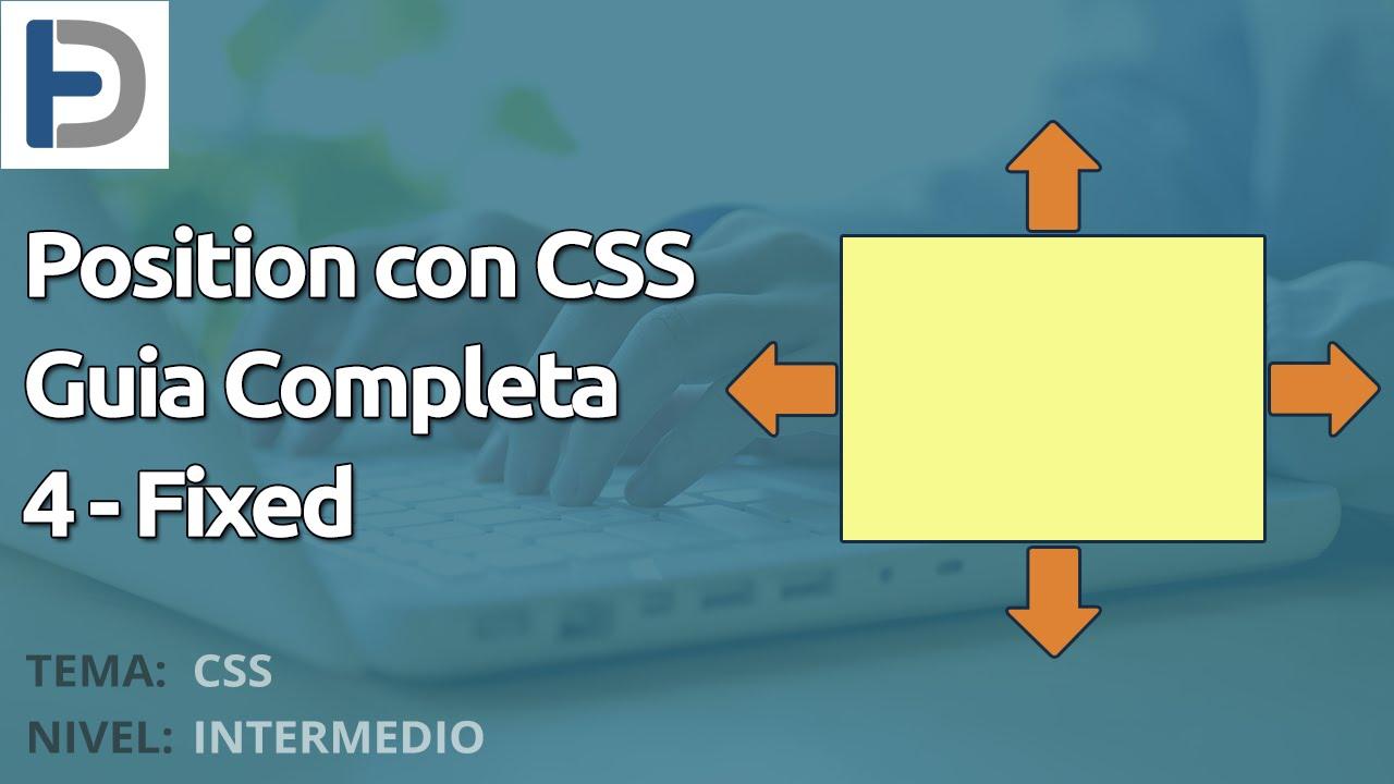 Como usar o background image no css - Position En Css Guia Completa 4 Fixed
