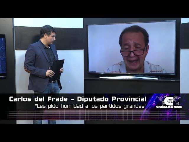 Carlos del Frade - Diputado Provincial (Frente Social y Popular) - Ciudadanos 21 02 21