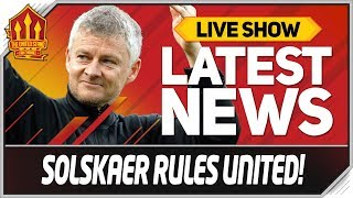Solskjaer's Changes Pogba's Mind! Man Utd News LIVE