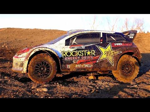 RC ADVENTURES - Rockstar Energy Team Associated Rally Car w/ Special Guest: BLACK WiDOW!