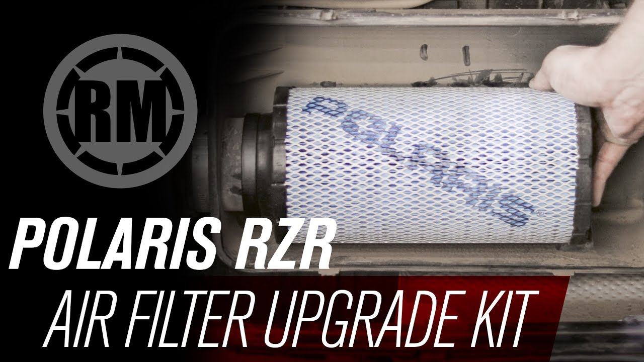 Polaris RZR Premium Air Filter Upgrade Kit