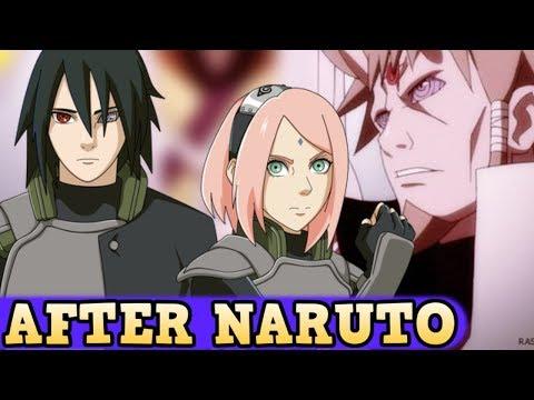 After Naruto Sasuke Sakuras Life Death Story Youtube