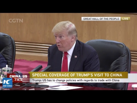 LIVE: Xi Jinping holds talks with Donald Trump in Beijing
