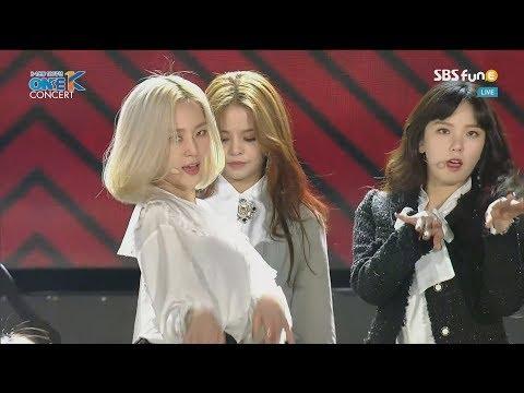 190301 CLC (씨엘씨) - NO + BLACK DRESS @ 2019 One K Concert
