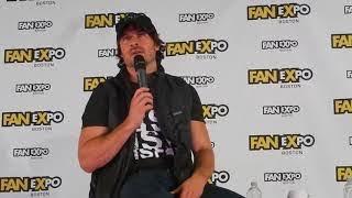 Ian Somerhalder panel @ Boston Comic Con  (The Vampire Diaries)