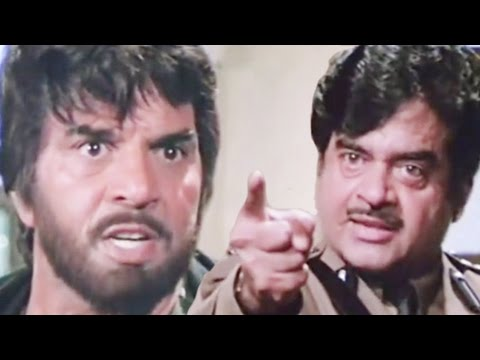 Shatrughan Sinha Wants To Take Revenge With Dharmendra, Aag Hi Aag - Scene 15/18