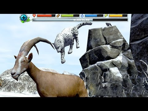 Snow Leopard Simulator (by Gluten Free Games LLC) Android Gameplay [HD]