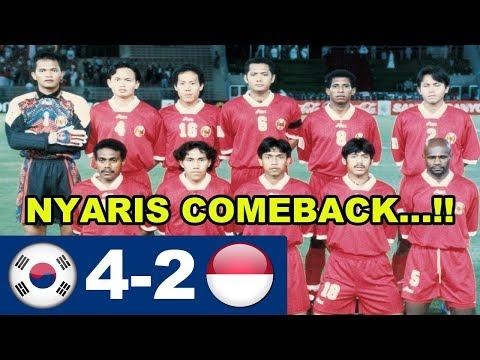 Korea Selatan Vs Indonesia 4-2 (AFC Asian Cup 1996)