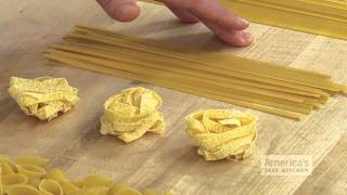 Super Quick Video Tips: Pairing Pasta Shape With Sauce