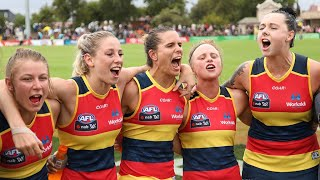 Creating History: The Crows first AFLW Game