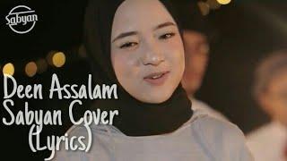 Gambar cover Deen Assalam - Sabyan Cover (Lyrics)