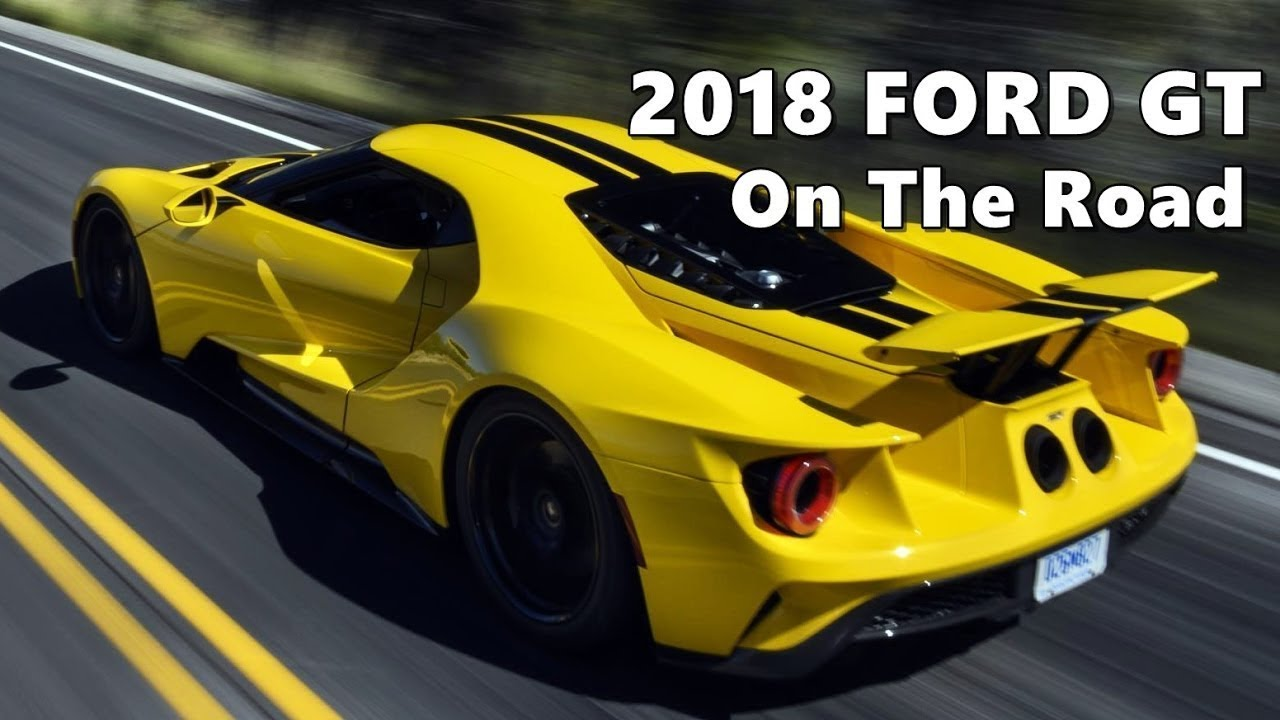 2018 ford gt supercar price