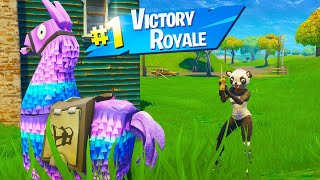 The LLAMA Challenge in Fortnite.. 😂