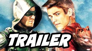 Arrow Season 5 Final Trailer Breakdown and The Flash 4 Night Crossover