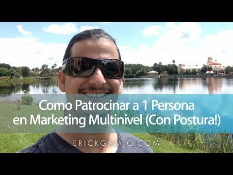 """Formación: Erick Gamio explica cómo patrocinar a una persona """"con postura"""""""