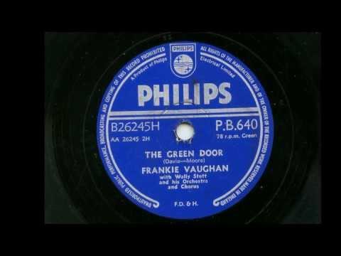 Frankie Vaughan 'The Green Door' 78 rpm