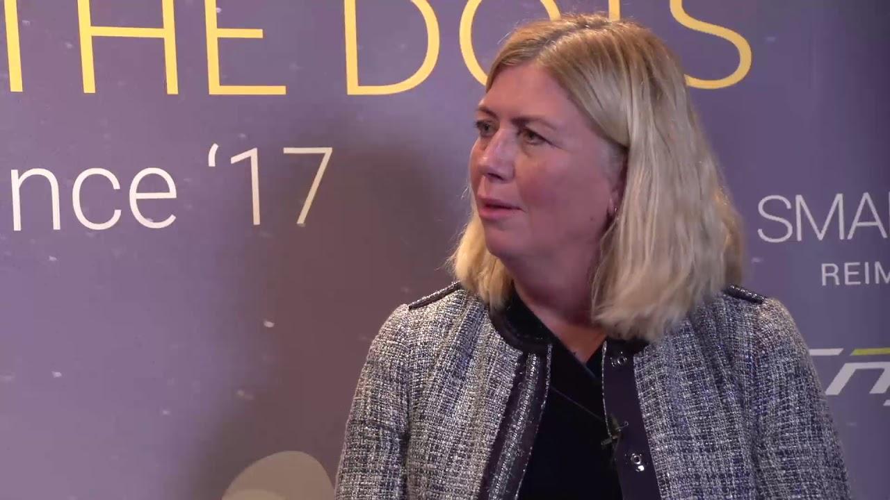 Ulla Sandborgh (Svenska Kraftnät) discusses microgrids and change mangement