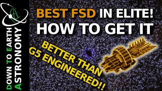 Pre-Engineered FSD How t๐ Get It | Elite dangerous