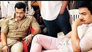 Aamir Khan Visits The Sets Of Dabangg 2 - Bollywood News [HD]