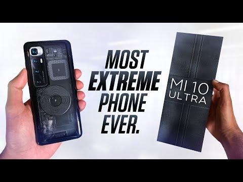 Mrwhosetheboss tar en ordentlig titt på Xiaomi Mi 10 Ultra Rätt imponerande pjäs