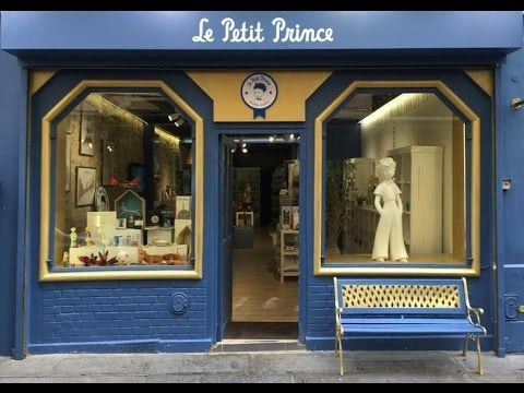 Le petit prince store paris youtube - Le petit salon paris ...