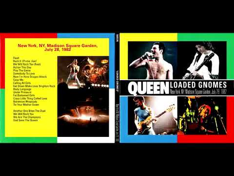 Queen LIVE In New York City 7/28/1982 (REMASTERED)