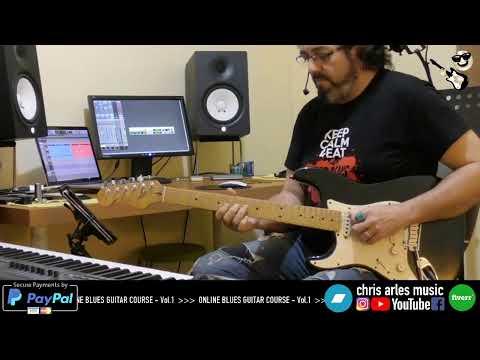 ONLINE BLUES GUITAR COURSE vol.1 -  Live Stream#1