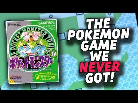The Pokemon Game We NEVER Got! (Pokemon Green Version Differences)