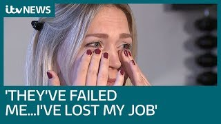 Mum's emotional plea over 'failing' Universal Credit | ITV News