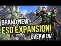 Summerset - The New Elder Scrolls Online Expansion - MMORPG Expansion Overview