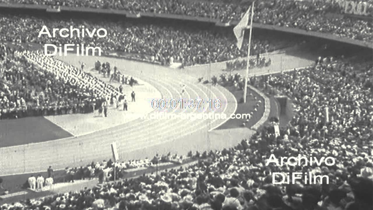 Ceremonia De Apertura De Los Juegos Olimpicos De Mexico 1968 Youtube
