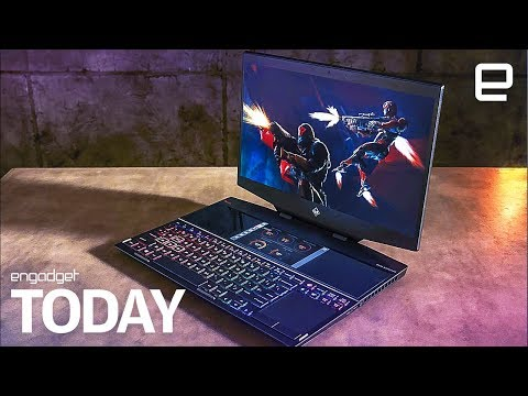 HP's new Omen gaming laptop packs two screens