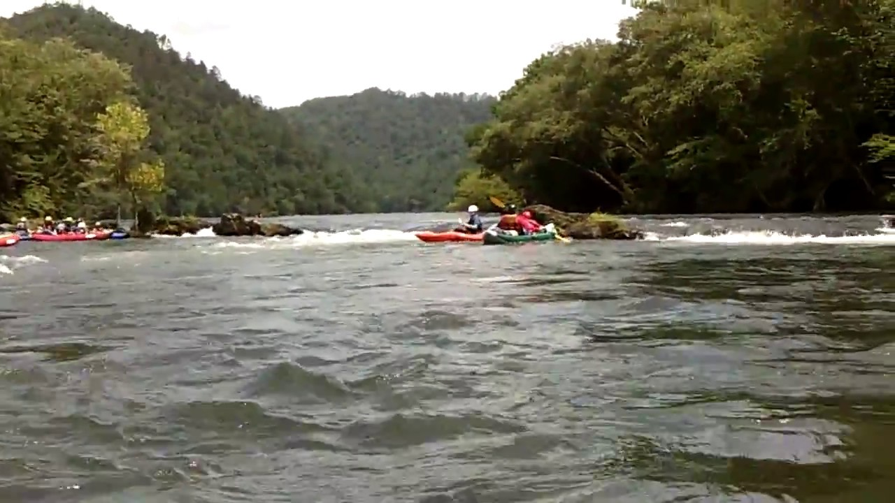 Three Chutes on the Hiwassee River - YouTube