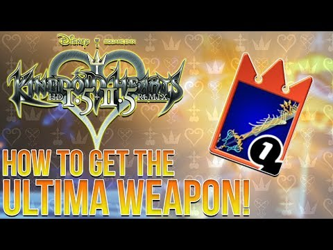Kingdom Hearts Re:Chain of Memories - How to Get The Ultima Weapon (Guide)