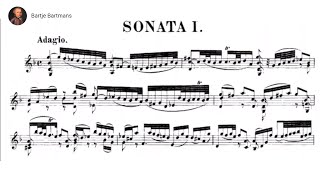 Bach - Violin Sonata No. 1 in G minor, BWV 1001{Grumiaux}