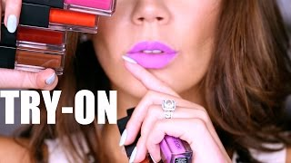 SMASHBOX - ALWAYS ON MATTE REVIEW | Full Collection