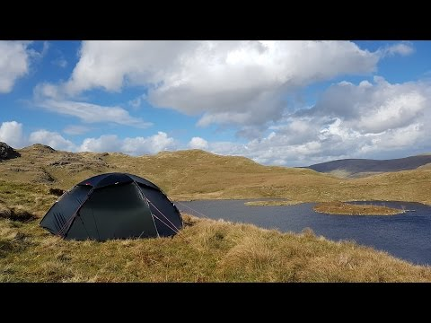 Angle Tarn Wild Camp May 2016