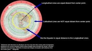 The Azimuthal Equidistant Map is the Flat Earth