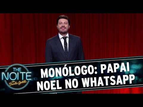 The Noite (17/11/15) - Monólogo: Papai Noel No WhatsApp