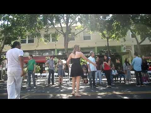 CHAYANNE AND RUTH DANCE CLASS IN BERKELEY CALIFORNIA