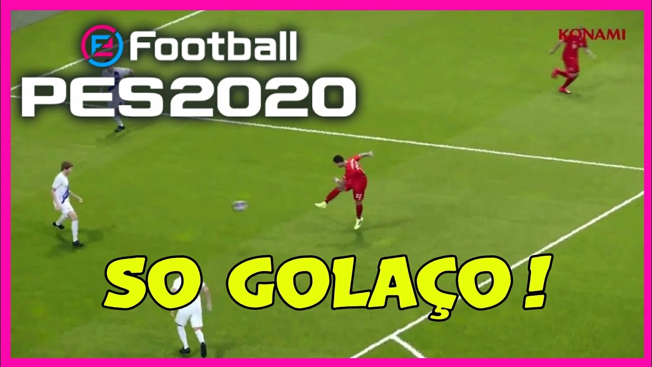 PES 2020 - COMPILATION GOALS AND SKILLS