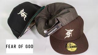뉴에라 피어오브갓 모자 리뷰  FEAR OF GOD E…