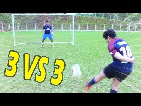 3 X 3 ( ALADDIN VS CASTOR FC ) DESAFIOS DE FUTEBOL