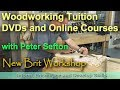 Woodworking Tuition DVDs and Online Courses