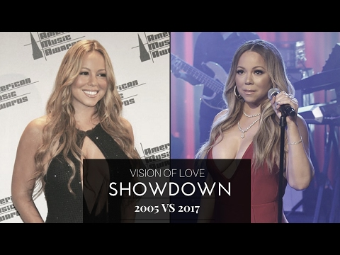 Vision Of Love (2005 vs 2017 SHOWDOWN) | Mariah Carey