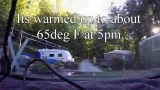 Ricketts Glen, PA & Nขde Camping