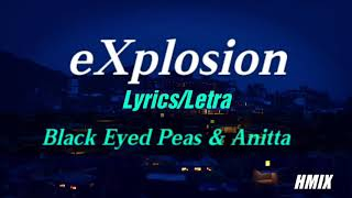 Baixar Black Eyed Peas & Anitta - eXplosion - Letra lyrics (Lyric video)