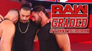 WWE Raw: GRADED (22 October) | Roman Reigns Drops Universal Title, Dean Ambrose Heel Turn